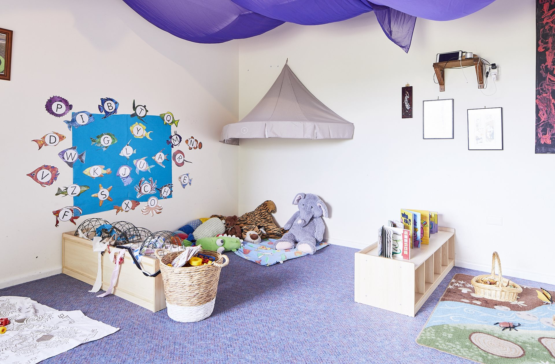 Toddler child care classroom at Daisys Child Care Centre Cooma